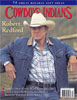 Robert Redford on cover of Cowboys & Indians Magazine