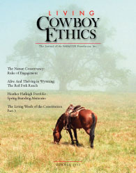 Living Cowboy Ethics Summer 2008
