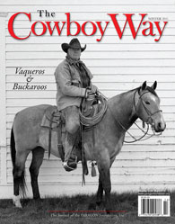 The Cowboy Way Winter 2011 cover