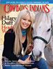 Hillary Duff on cover of Cowboys & Indians Magazine